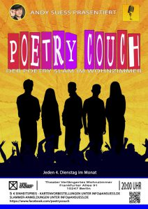 Poetry Couch Plakat